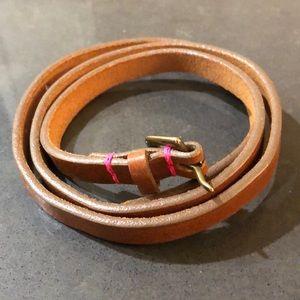 S/M Jcrew Skinny Belt